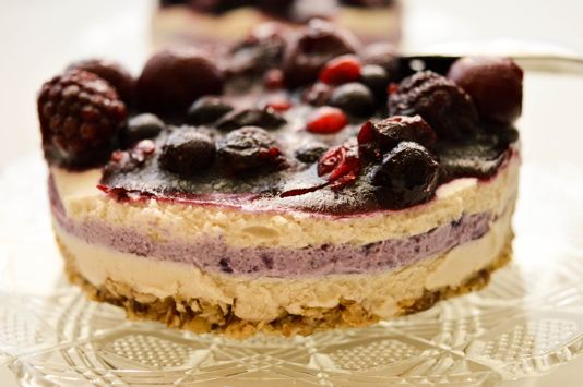 Vegan Forest Fruits Cake - I Rawck