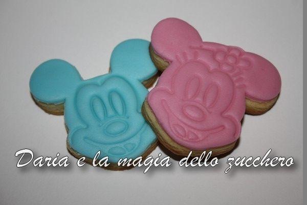 #Biscotto Topolino #Biscotto Minnie #Mickey Mouse cookie #minnie cookie