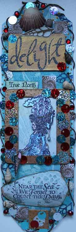 True North - another Paper Artsy Super Sized Tag