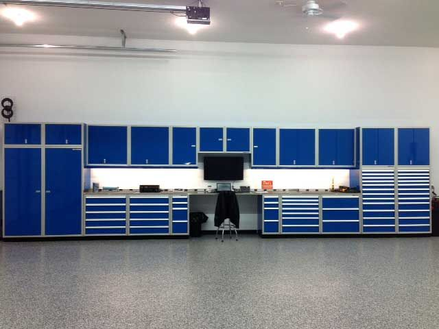 Moduline Aluminum Garage Storage Cabinets And Tool Chests