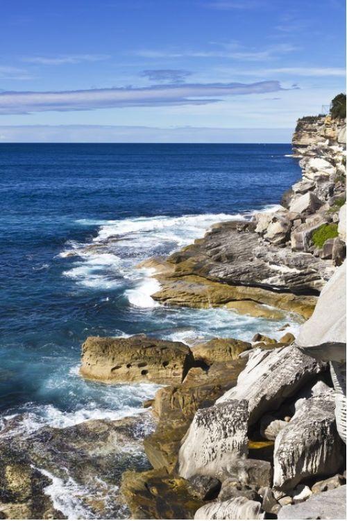 Sydney shoreline, Australia from $47.99 | www.wallartprints.com.au #SydneyArt #AustralianLandscapePhotography