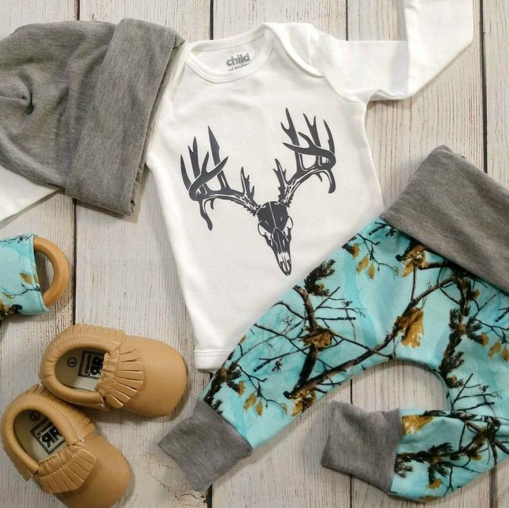 Coming Home Outfit Baby Boy hunting camo themed in our new limited turquoise realtree camo #babyboyoutfits #boyoutfits