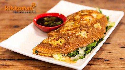 Good Chef Bad Chef - Veitnamese Prawn & Egg Ommelette