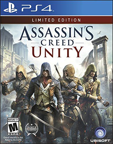 Assassin's Creed Unity - Limited Edition - PlayStation 4 Ubisoft http://www.amazon.com/dp/B00J48MUS4/ref=cm_sw_r_pi_dp_OWPwwb0E3CVV1