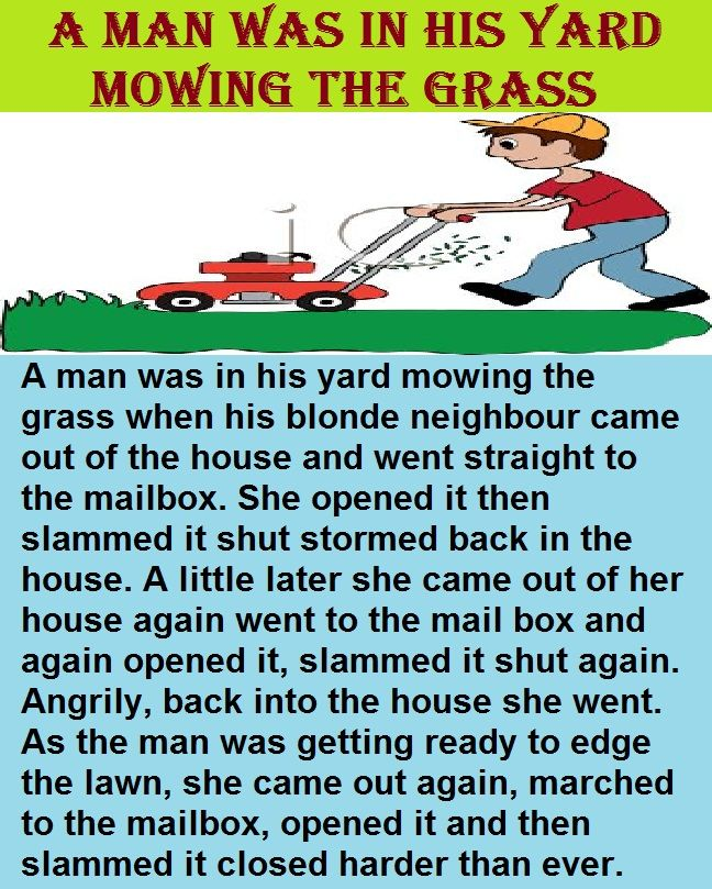 A Man Was In His Yard Mowing The Grass In 2020 Mowing Grass Yard