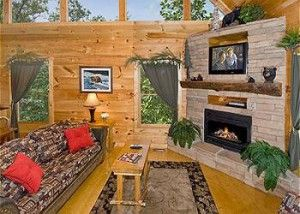 Inside look at the Lumberjack Lodge cabin - http://www.amazingviewscabinrentals.com/reasons-stay-two-bedroom-cabins-in-gatlinburg-or-pigeon-forge/