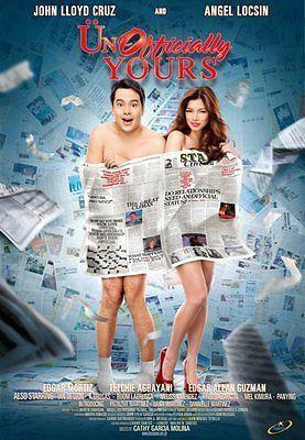 UNOFFICIALLY YOURS John Lloyd Cruz Angel Locsin filipino Dvd