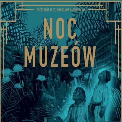 Night of the Museum 2017 official leaflet in English + Free Warsaw Museums