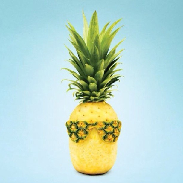 tropical delight pineapple art fun summer fruit