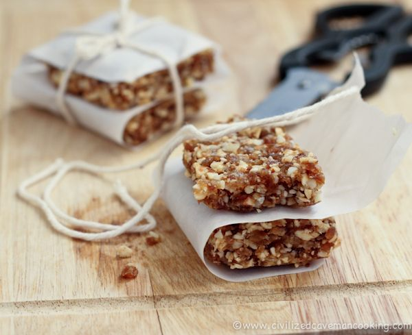 Apple Pie Caveman Bars I just may have everything to make me a batch of these!