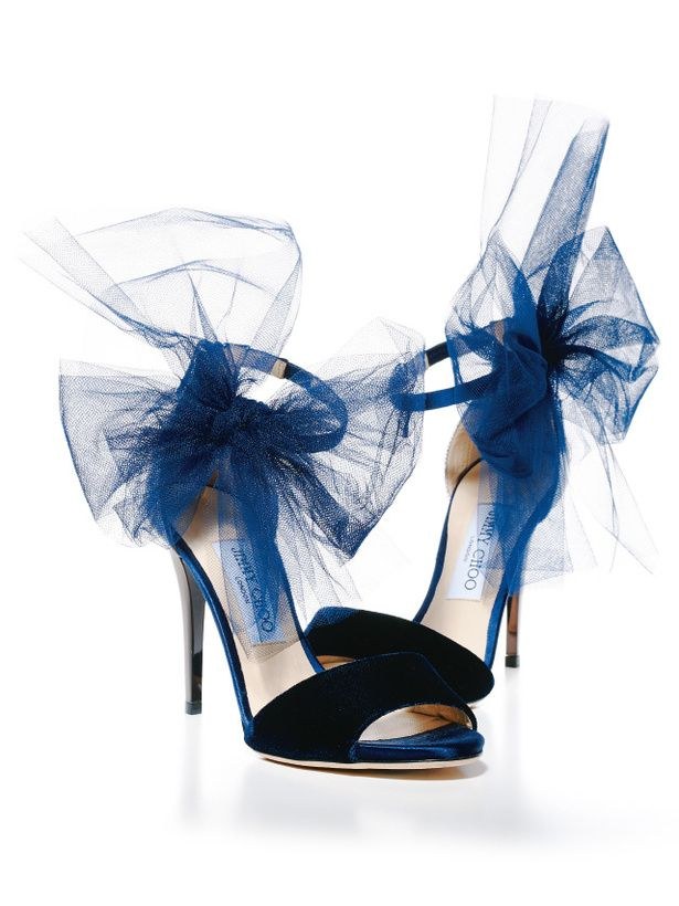 Tulle Jimmy Choos! What a beautiful sight!
