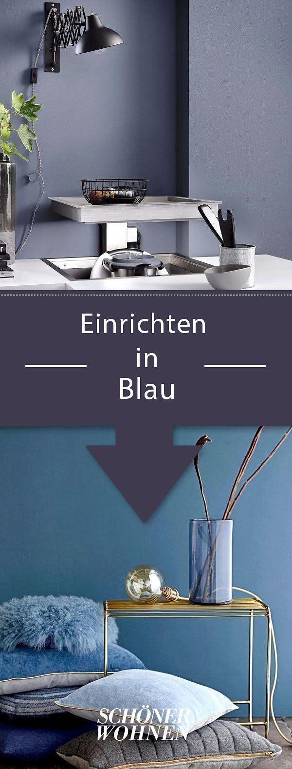 63 besten Wohnen mit Blautönen Bilder auf Pinterest | Dunkle ...