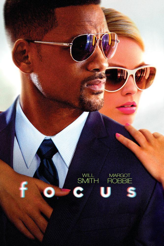 Focus (2015) Movie Poster - Will Smith, Margot Robbie, Rodrigo Santoro  #Focus…