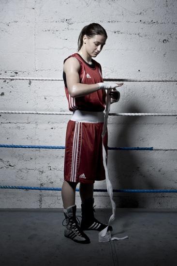 Katie Taylor 2009 European Boxing Champion