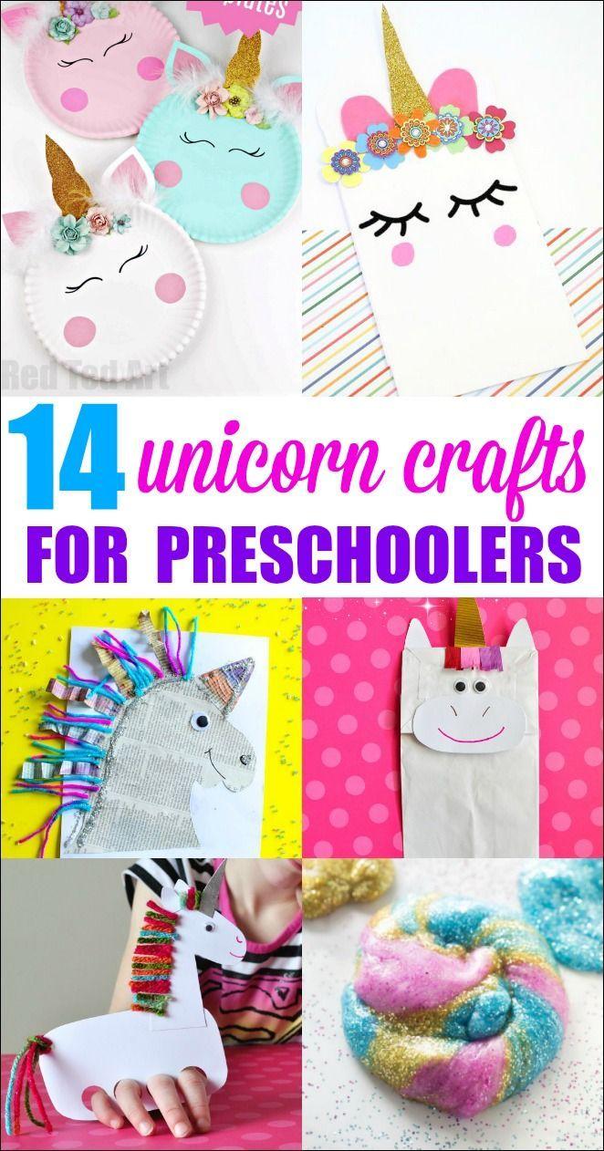 Unicorn Crafts For Preschoolers Unicorn Crafts Preschool Crafts Toddler Crafts