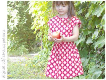 Rose Dress - Sizes 2 to 10 | Craftsy | digital pdf sewing pattern