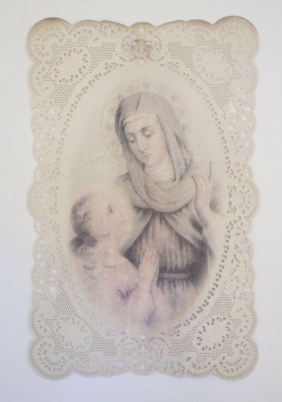 Italian Prayer Card