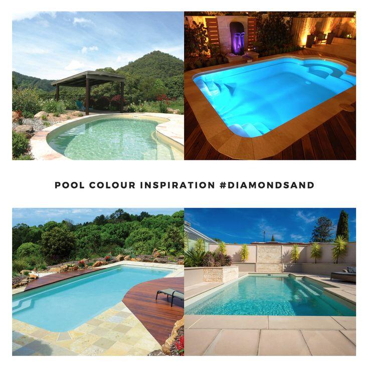 Leisure Pools Colour Inspiration - Diamond Sand   #lifeofleisure #leisurepools #love #summer #swimmingpools #colours #best
