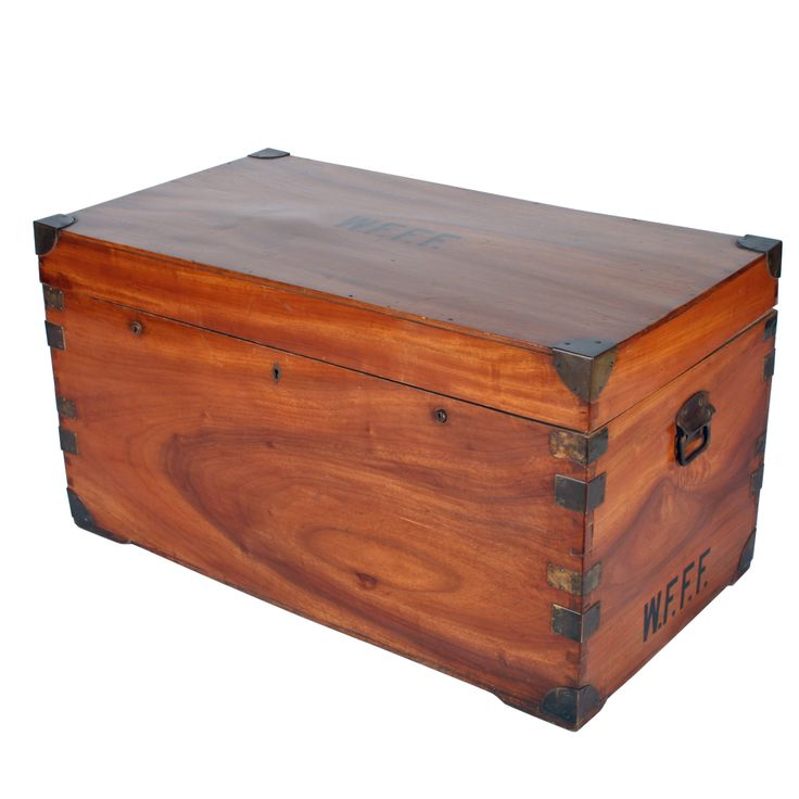 Brass Bound Camphor Wood Trunk in 2019 | Hey I Could Make ...