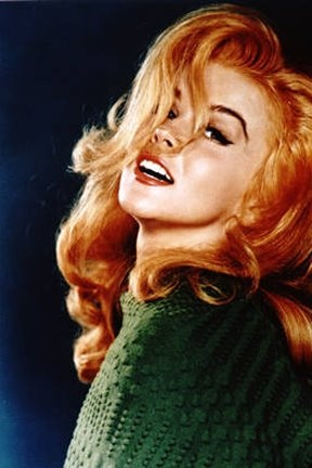 Ann Margaret. If i could look like anyone in the world, it'd be this gal right here.