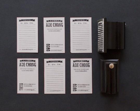 Adeline Chong Namecard: Biz Card, Packaging Design, Hand Stamped Business, Ade Chong, Handmade Business, Chong Business, Businesscard, Stamped Business Cards, Card Inspiration