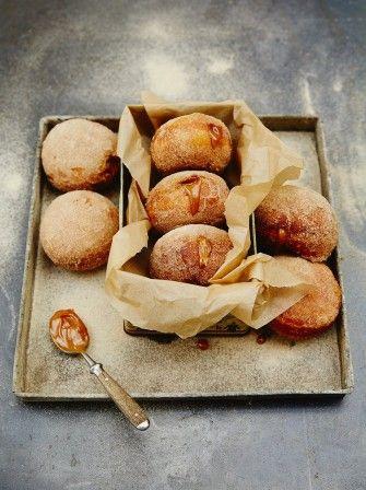 Dulce De Leche Filled Doughnuts | Bread Recipes | Jamie Oliver