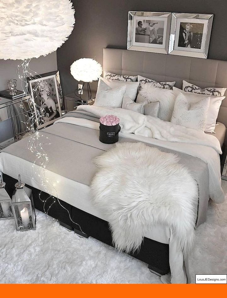 Pin By Lindsay Desero On Bedroom Ideas Master Bedrooms Decor Bedroom Decor Home Decor Bedroom
