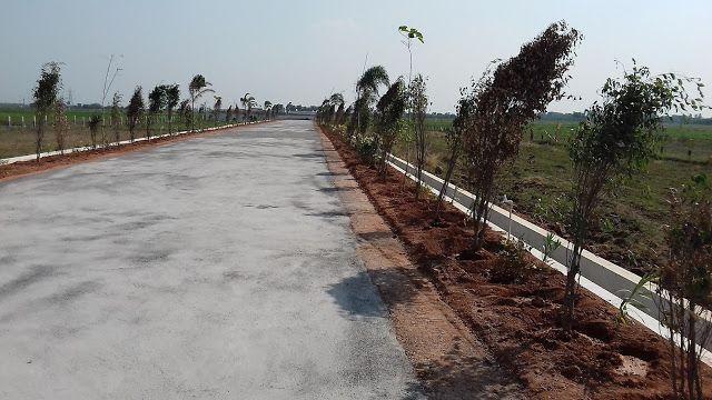 TSR CORPORATE TEAM - VIJAYAWADA: CRDA approved Residential plots for sale in Chevitikallu near Kanchikacherla exactly opposite to Amaravathi