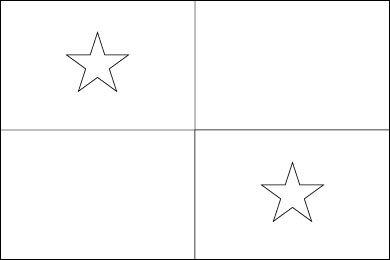 Blank Panama Flag