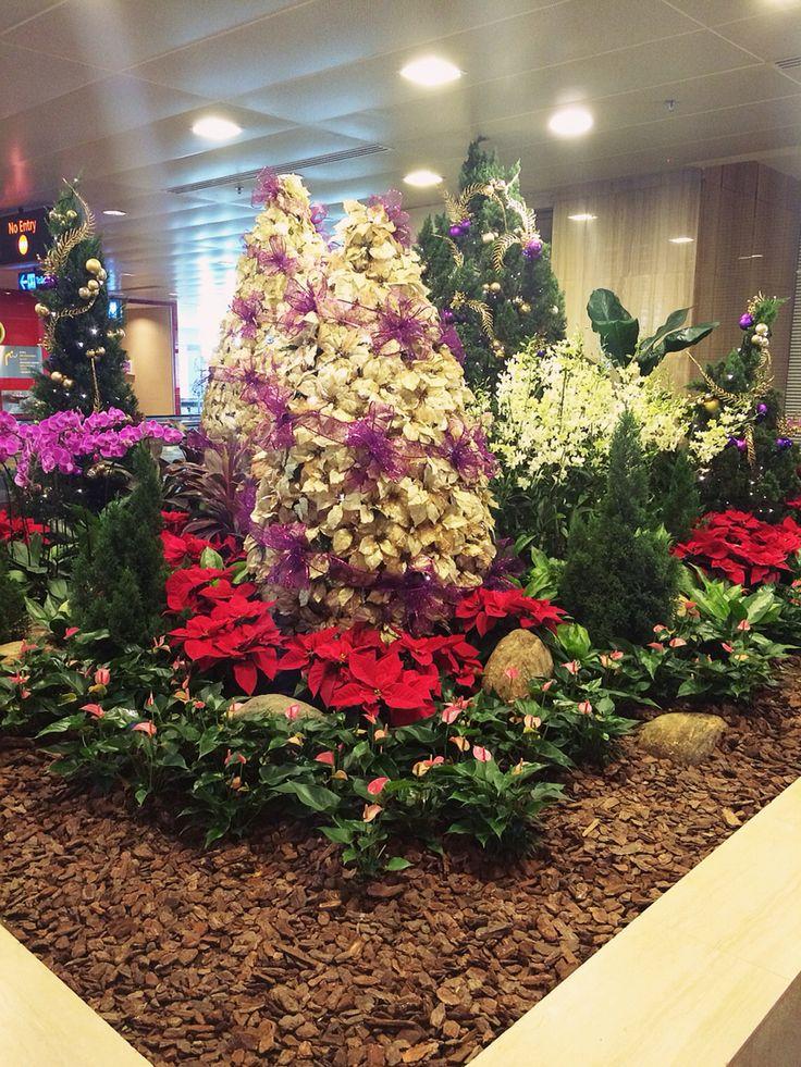 Gold Purple Christmas Tree
