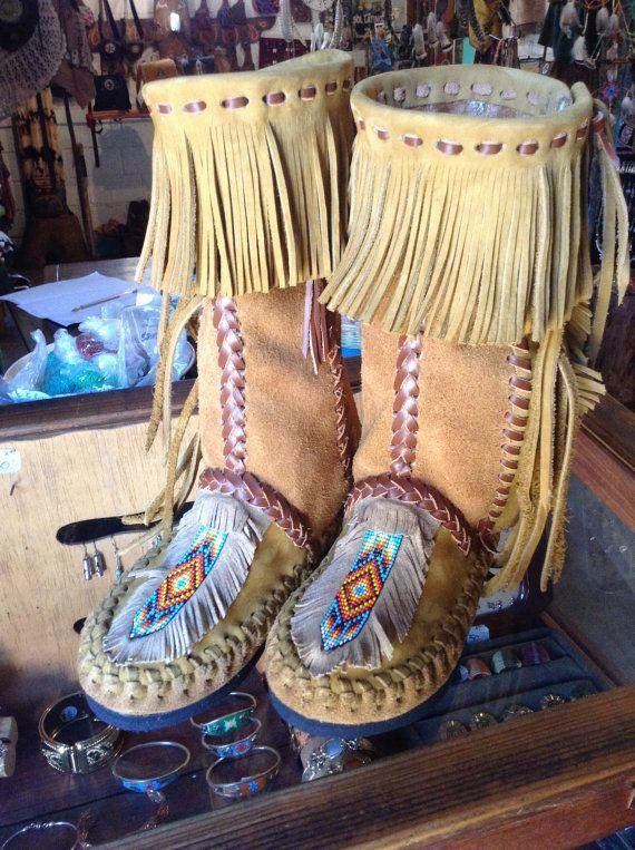 Image result for mocasines tradicionales americanos