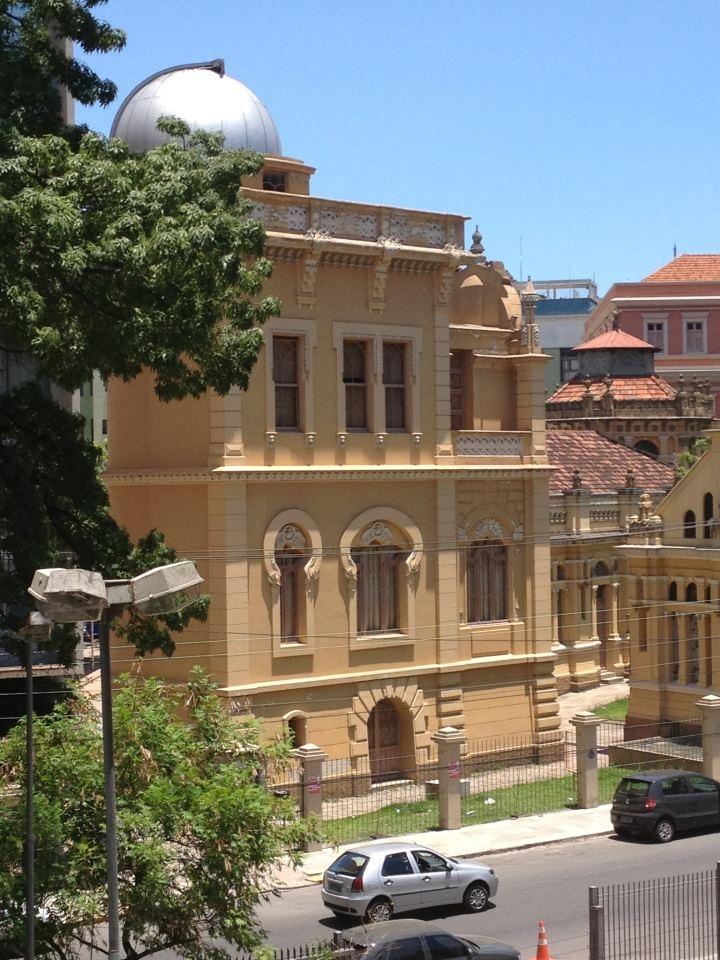 Observatório Astronômico, um prédio histórico da Universidade Federal do Rio Grande do Sul, Porto Alegre, Brasil.