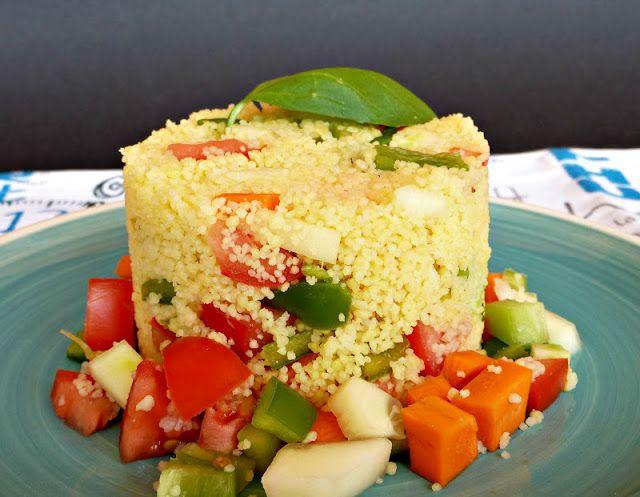 Una Fiera en mi cocina: Ensalada de cuscús sin gluten