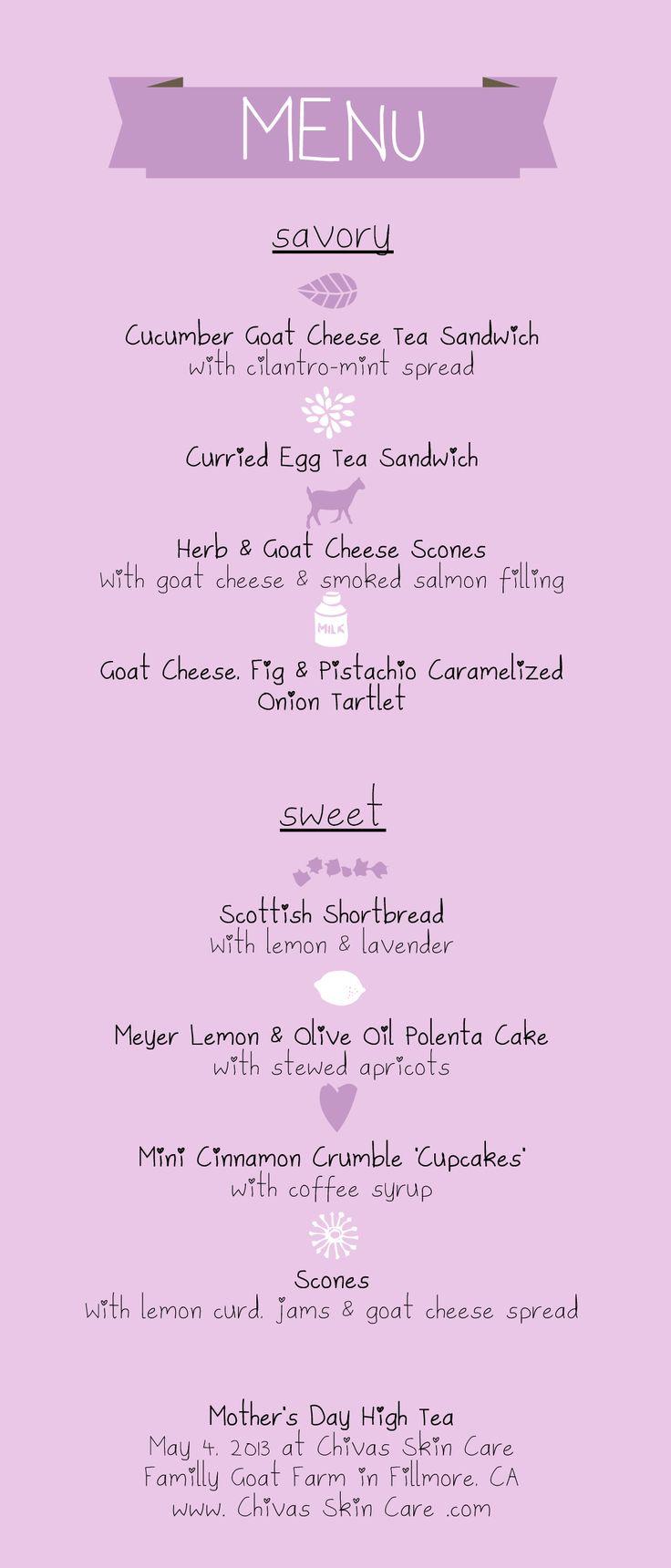 best 25 high tea menu ideas on pinterest afternoon tea menu
