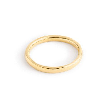 Sometimes the best finishing touch is one you never take off—and we created this piece with exactly that in mind. Classic, timeless and hand-finished to a brilliant lustre, it's one you'll wear every day and in 20 years. Engrave it, pass it down, have it forever. <ul><li>Width: 2mm.</li><li>Solid 14k gold.</li><li>Import.</li><li>Online only.</li><li>Unfortunately, fine jewelry items cannot be returned to J.Crew store locations; please contact us at 800 261 7422 to make arrangements for a…