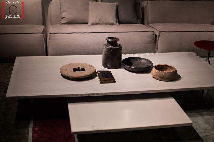 Table composition at Baxter Cinema. Photo is courtesy of Dennis Zoppi and Manuela Albertelli.  #baxtercinema