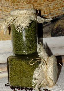 Μαμ - ά!!: Μυρωδικά στο αλάτι - herb salt
