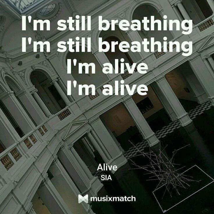 Alive, Sia.