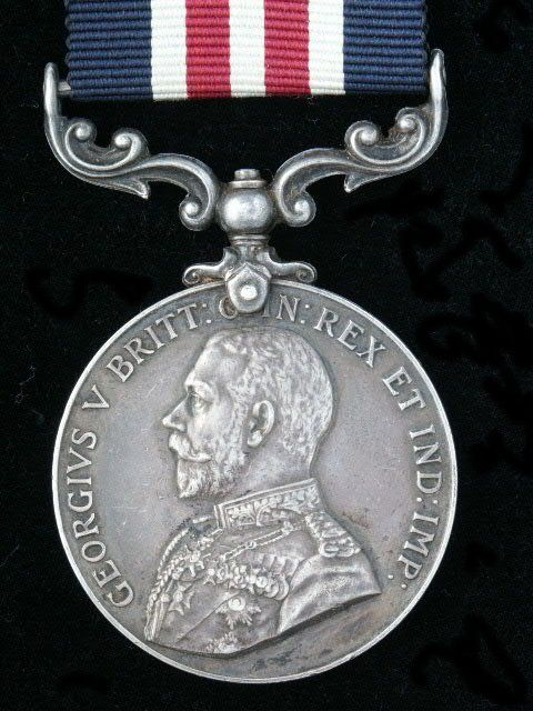 British Medal For Bravery in the field, SSGT Loval Ayers of the 4th Infantry Division was awarded this medal by the Britt's for action during WWII. He was also awarded the US Army Distinguished Service Cross for Valor in the same action. He was killed in action one month later. American Hero