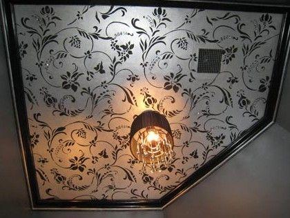 pintura no teto