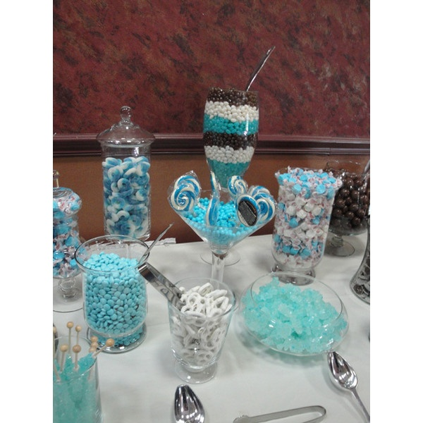 baby boy shower candy buffet ideas found on polyvore