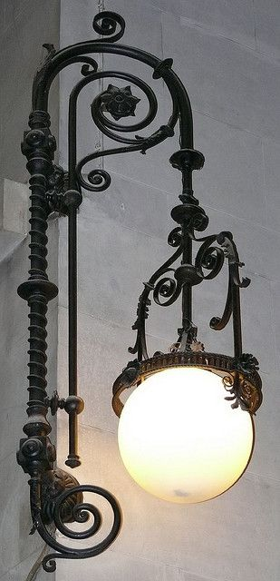 <3 old street light .......... Barcelona - Ausiàs Marc 39, Catalonia by Arnim Schulz, via Flickr