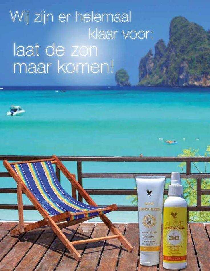 beste zonneproducten op basis van aloe vera,bescherm je tegen uva en uvb stralen door de combinatie van de ingredienten beschermfactor 50 meer info 0486/912779
