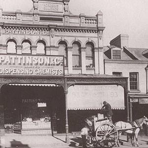 Pattinson and Co Ltd had six stores by 1890 in Balmain, Newtown, Oxford Street…