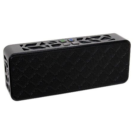 Jensen® SMPS-650 Bluetooth Wireless Stereo Speaker - Black : Target