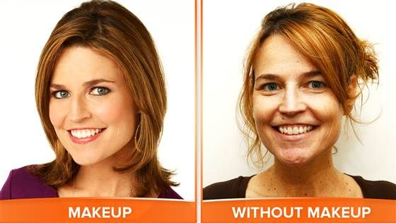 TODAY Show anchors dare to bare on No Makeup Monday. #loveyourselfie - TODAY.com