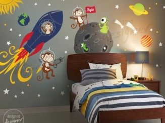 large scale wall stickers planets - Google Search