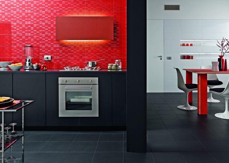 PIASTRELLE SHADES, cucina moderno ceramica bicottura [AM SHADES 6 ...