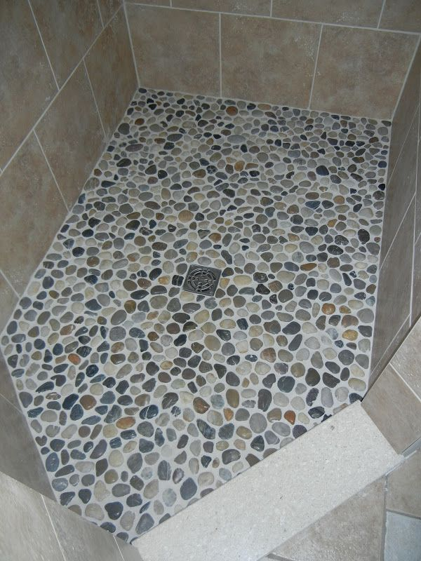 Do it yourself floors pebble floor shower doors and big for Do it yourself flooring
