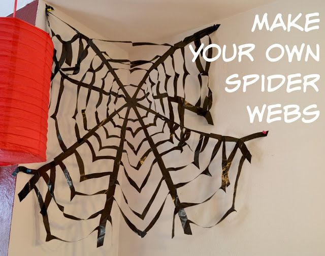 how to make real spiderman webs